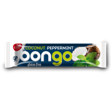 Bongo mátová přích. kokoso.tyčinka tmavá pol. 40g