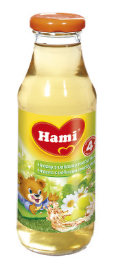 Hami ready tea hrozny s meduňkou 300ml 4M