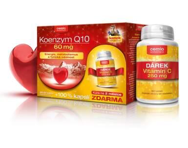 Cemio Koenzym Q10 60mg biotin cps.30+30+dárek 2016