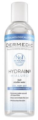 DERMEDIC H3 Micelární voda H2O 200ml