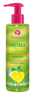 Dermacol Aroma Ritual tek.mýdlo rozpus.citron250ml