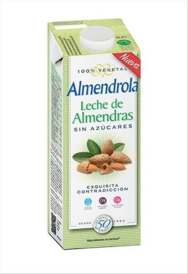 Almendrola Mandlový nápoj 3% slazený 1000 ml