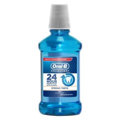 Oral-B ústní voda Strong Teeth 250 ml
