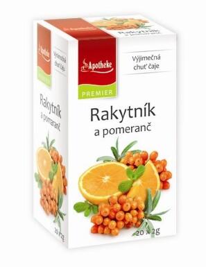 Apotheke Rakytník a pomeranč 20x2g