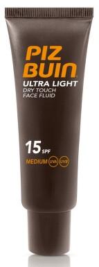 PIZ BUIN SPF15 Face Ultra Lgh Dry T.Sun Fluid 50ml