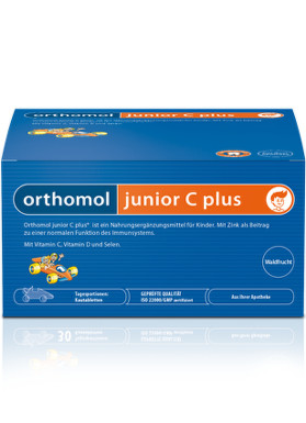 Orthomol junior C plus 14 denních dávek