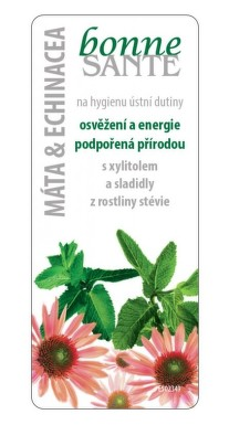 Bonne Santé Dobré zdraví 8g máta+kadeř+echinacea