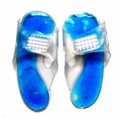 SJH 613 Chladivé/hřejivé gelové pantofle