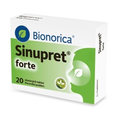 SINUPRET FORTE obalené tablety 20