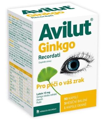 Avilut Ginkgo Recordati cps.90