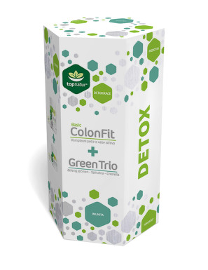 DETOX TOPNATUR - ColonFit Basic + Green Trio