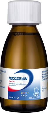 MUCOSOLVAN JUNIOR 3MG/ML sirup 100ML