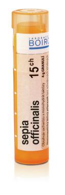 SEPIA OFFICINALIS 15CH granule 4G