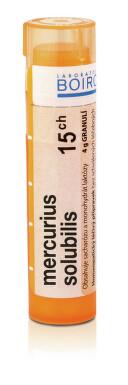 MERCURIUS SOLUBILIS 15CH granule 4G