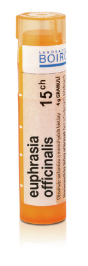 EUPHRASIA OFFICINALIS 15CH granule 1X4G