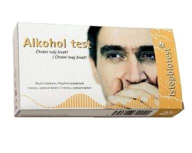 Alkohol test ze slin 2ks