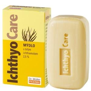 Ichthyo Care mýdlo 2.5% 90g Dr.Müller