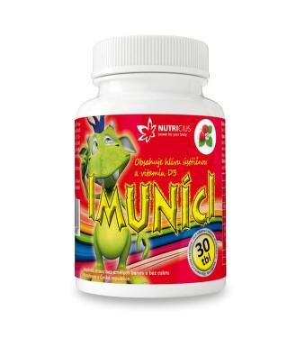 Imuníci - Hlíva ústřičná s vit. D pro děti tbl.30