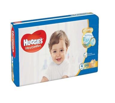 HUGGIES Ultra Comfort Jumbo vel.4 8-14kg 50ks
