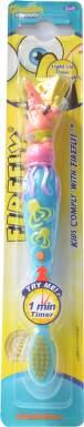 SpongeBob firefly blik.zubní kartáček 1min časovač