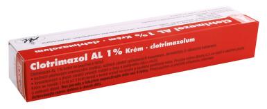 CLOTRIMAZOL AL 1% kožní podání krém 1X50GM 1%