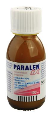 PARALEN SUS perorální suspenze 1X100ML/2.4GM