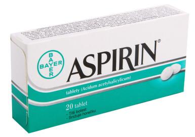 ASPIRIN perorální neobalené tablety 20X500MG