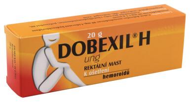 DOBEXIL H UNG rektální mast 1X20GM