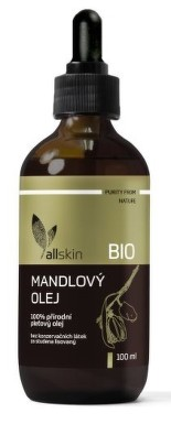 Allskin Mandlový olej BIO 100 ml