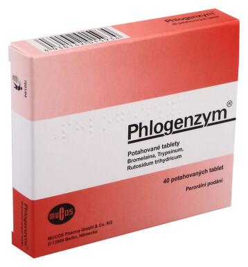 PHLOGENZYM perorální potahované tablety 40