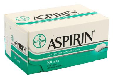 ASPIRIN perorální neobalené tablety 100X500MG