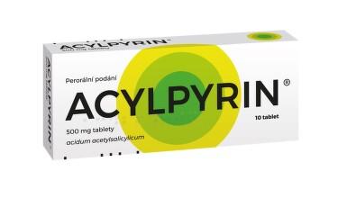 ACYLPYRIN perorální neobalené tablety 10X500MG