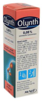 OLYNTH 0,05% nosní podání sprej, roztok 1X10ML