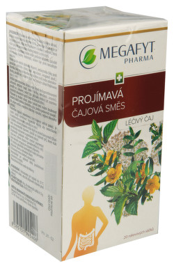 PROJÍMAVÁ ČAJOVÁ SMĚS perorální léčivý čaj 20X1.5GM