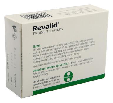 REVALID perorální tvrdé tobolky 30