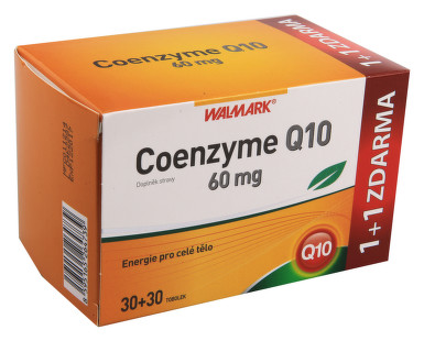 Walmark Coenzyme Q10 60mg tob.30+30