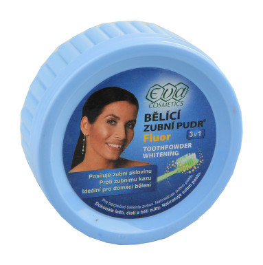 EVA Bělící zubní pudr fluór 30g