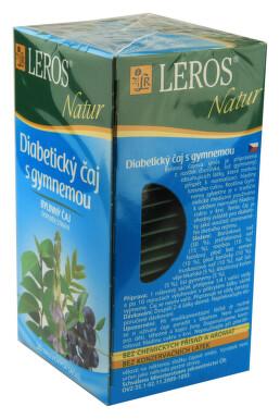 LEROS NATUR Diabetický čaj s gymnemou n.s.20x1g