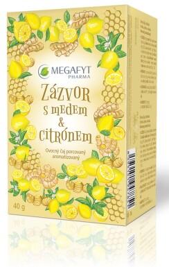 Megafyt Ovocný Zázvor s medem a citrónem n.s.20x2g
