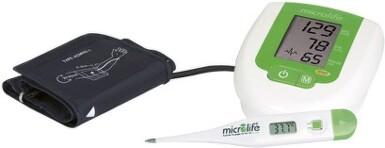 Microlife Tlakoměr BP 3AG1 s teploměrem MT 3001