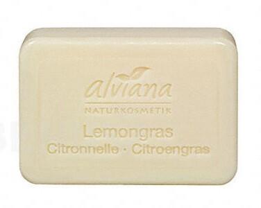 Alviana Mýdlo s rostlinným olejem Lemongrass 100 g