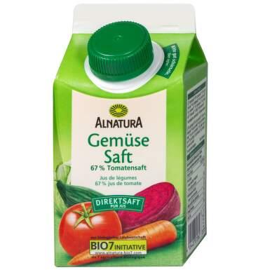 Alnatura Zeleninová šťáva 0 5 l