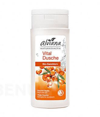 Alviana Povzbuzující sprch.gel bio Rakytník 200ml