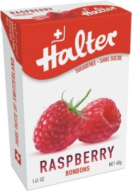 HALTER bonbóny Malina 40g (raspberry) H200252