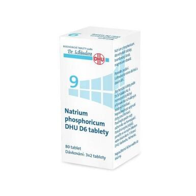 NATRIUM PHOSPHORICUM DHU D5-D30 neobalené tablety 80