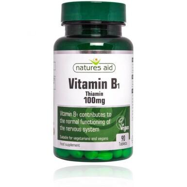 Vitamín B1 (Thiamin) 100mg tbl.90