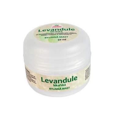 Herbal Harmony Levandule lékařská bylinná mast50ml