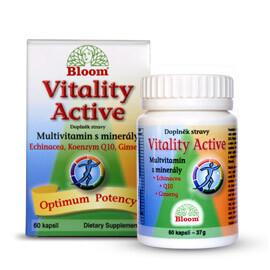 BLOOM Vitality Active Multivit.s minerály cps.60