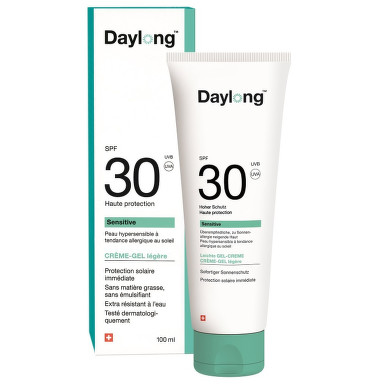 Daylong sensitive SPF 30 100ml gel-creme