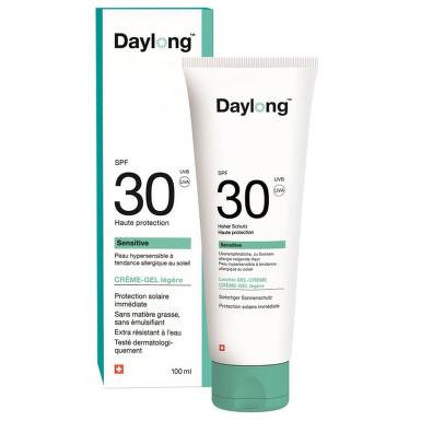 Daylong sensitive SPF 30 100ml gel-creme